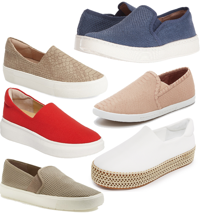 slip on sneakers for spring