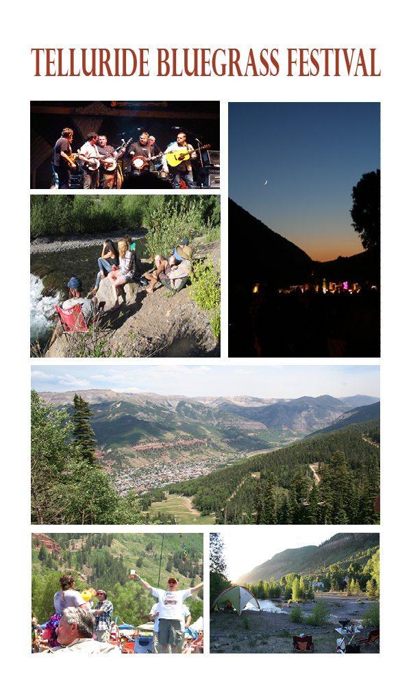 Photographs from Telluride Bluegrass Festival 2012