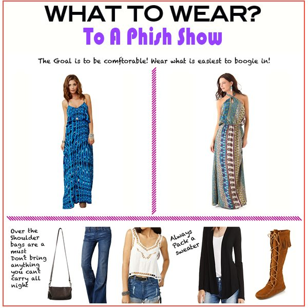 Phish Phashion – What to Wear to a Phish Show