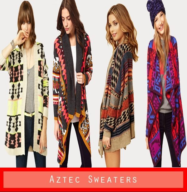 Must Have Fall Trend: Aztec Sweaters