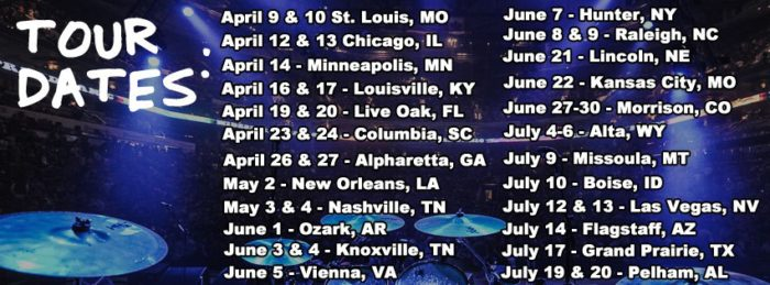 Widespread Panic Tour