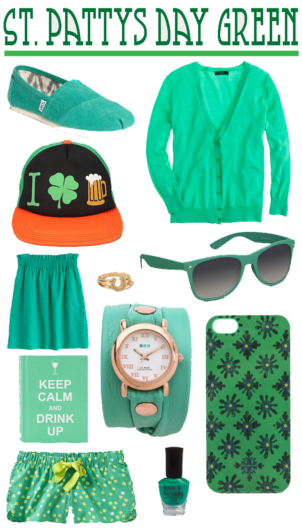 St. Patricks Day Green