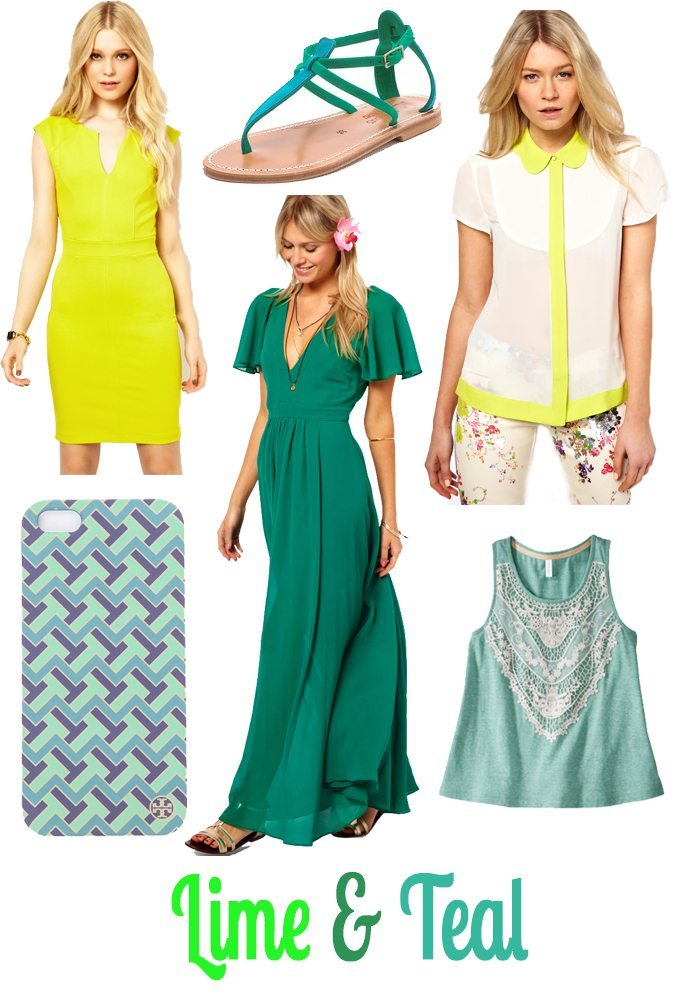 Shades of Green for Spring
