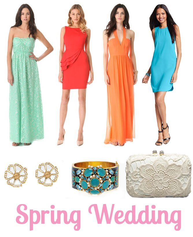 spring wedding outfits