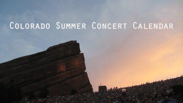 July – September Concert Calendar