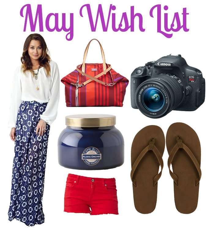 May Wish List