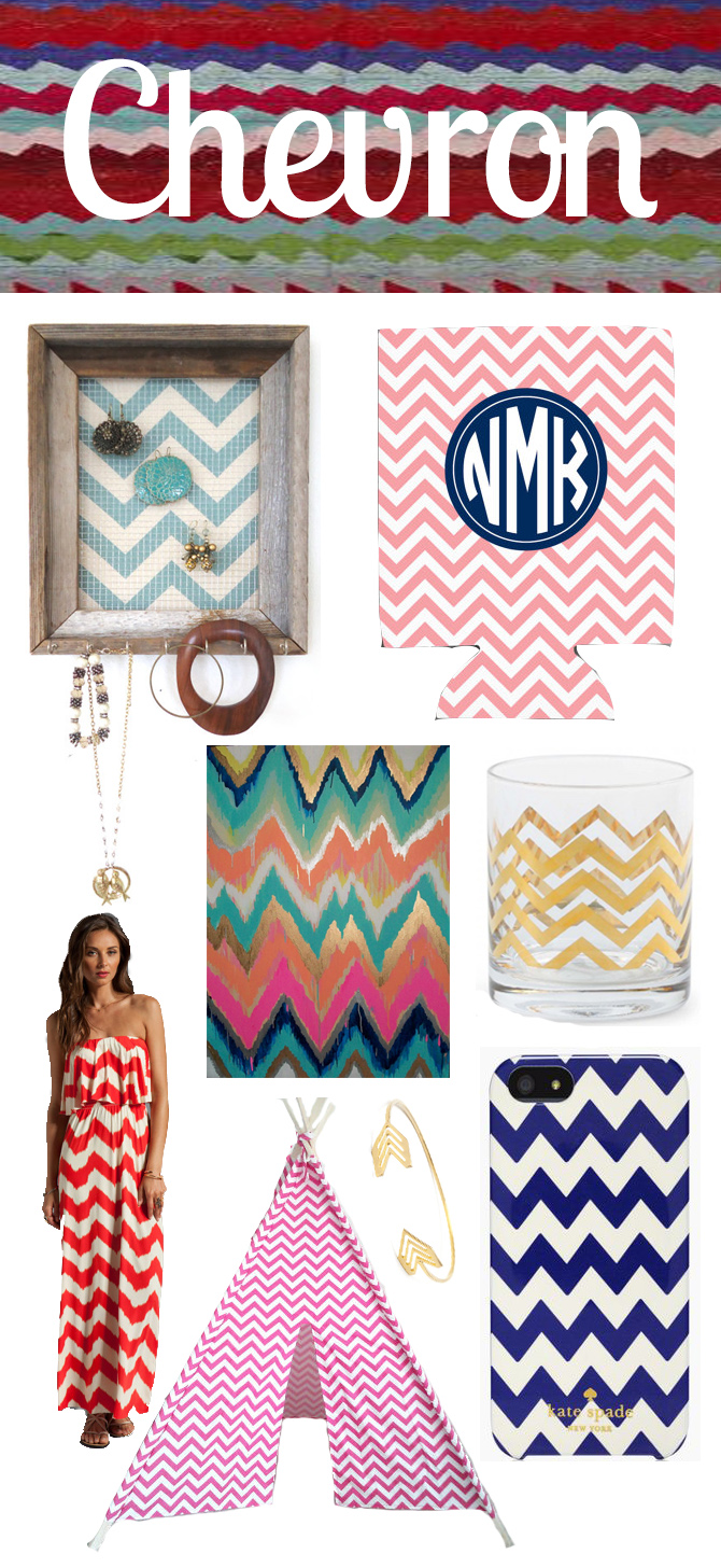 Chevron Style | Blue Mountain Belle