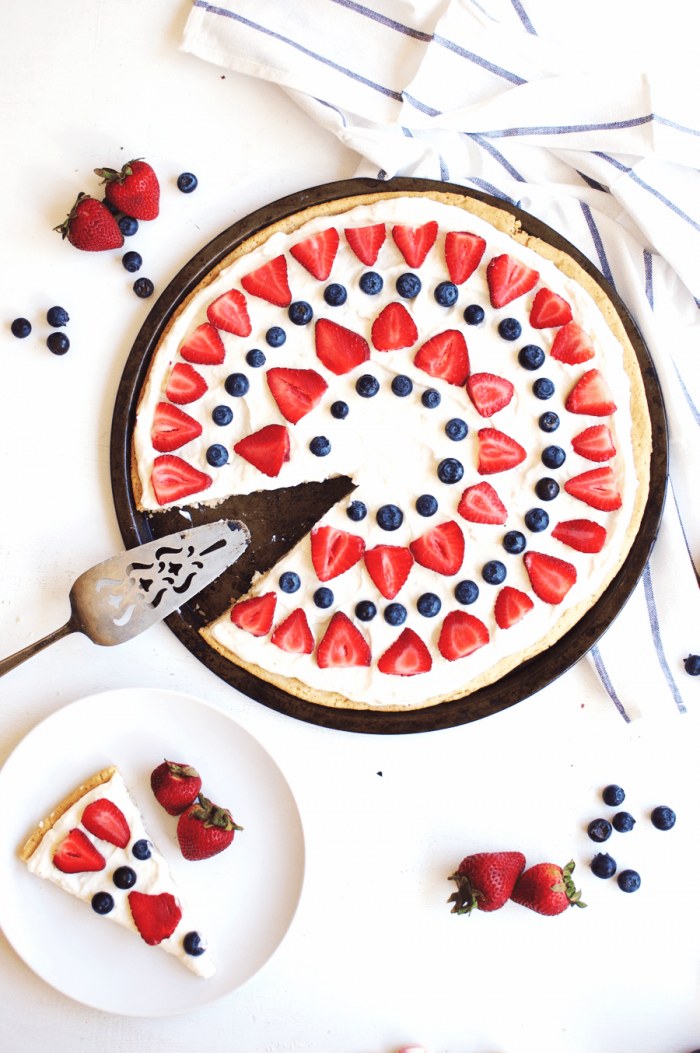 4th of July Pizza Cake from The Butter Half