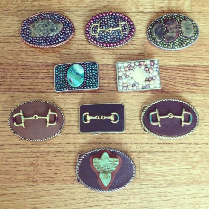 Hermosa Jewelry Belt Buckles