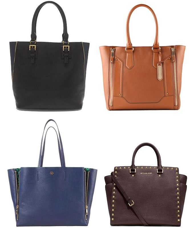 Upside Down Trapezoid Totes