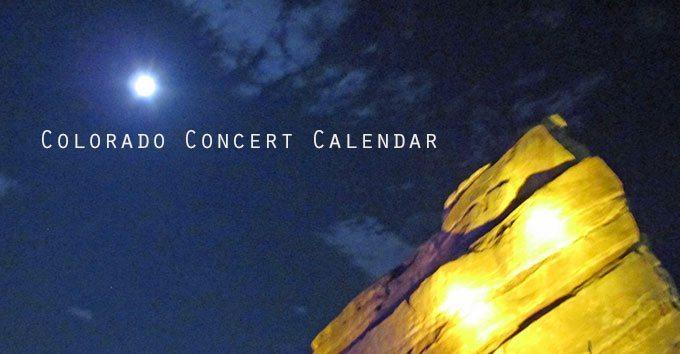 Denver Concert Calendar 2014