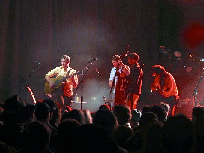 Infamous Stringdusters at Statebridge
