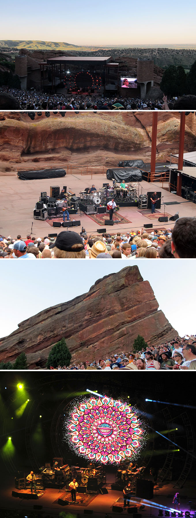 Widespread Panic at Red Rocks