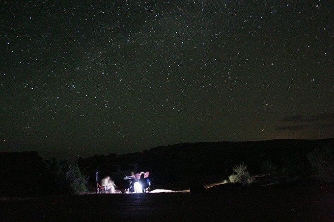 Moab Adventure – Night Photography