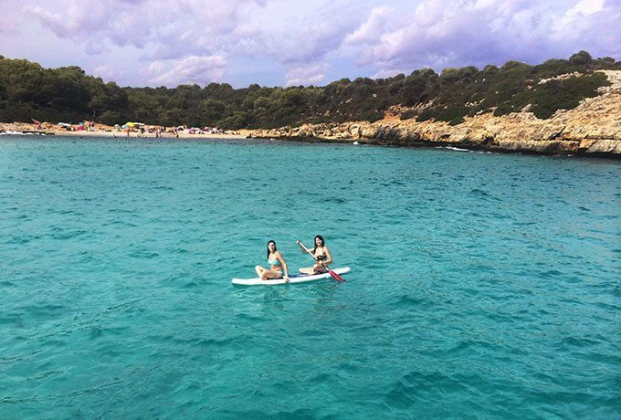 Paddle Boarding in Mallorca