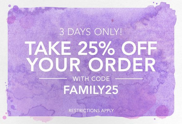 Shopbop Friends & Family Sale 25% Off