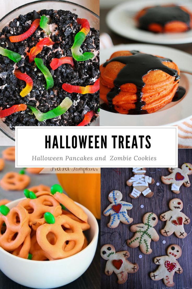 Halloween desserts, snacks and treat ideas