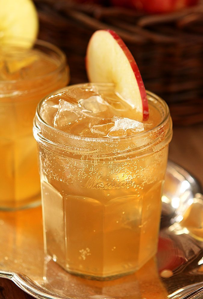 Bourbon and Apple Cider Cocktail from Creative Cocktail