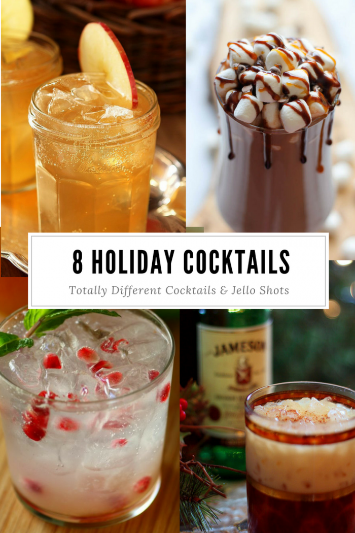 8 Holiday Cocktail Ideas