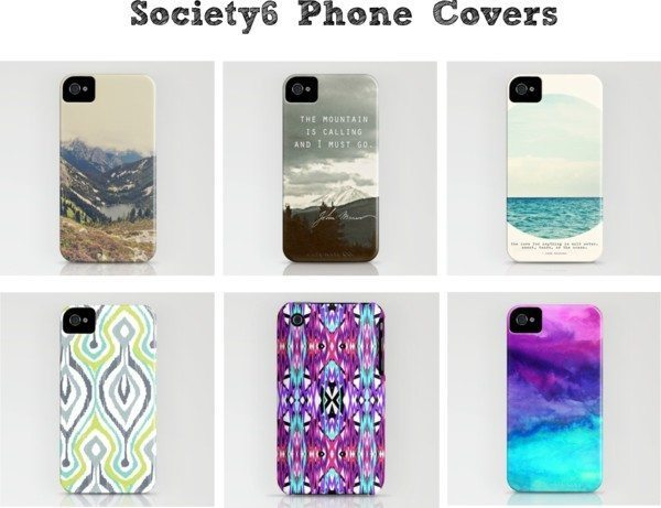 Society6-Phone Covers, Prints and More