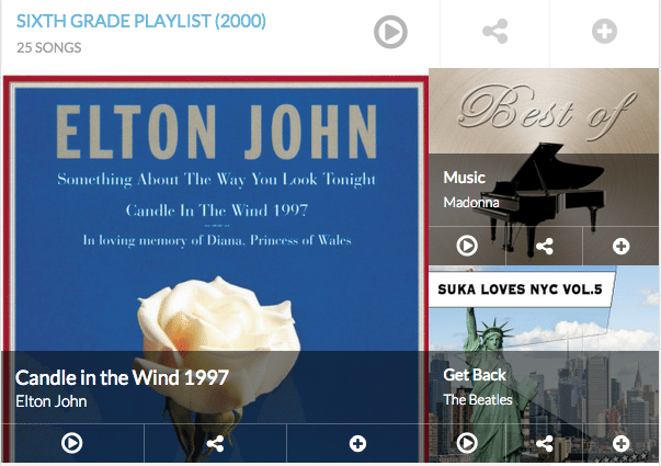RetroJam - Your Life In Playlist | Blue Mountain Belle