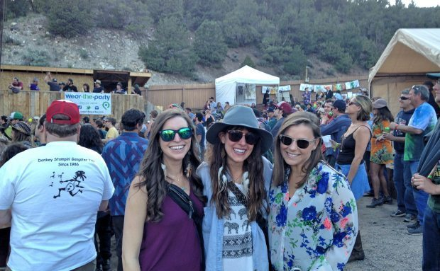 Girls at Statebridge, Colorado Beanstalk Festival 2015