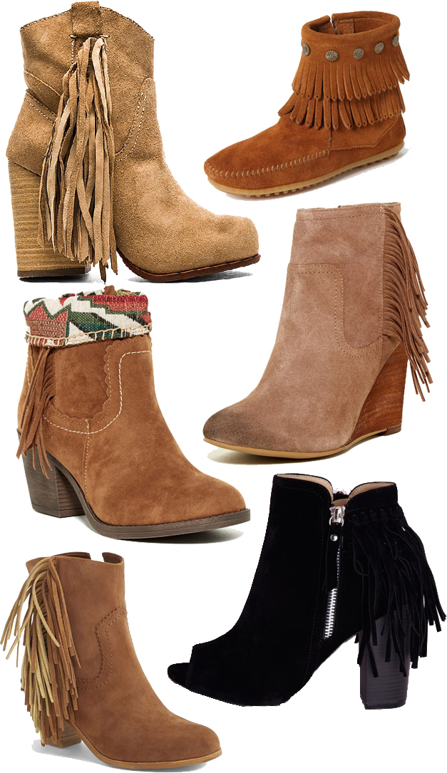 Fringe Booties – Fall Trend