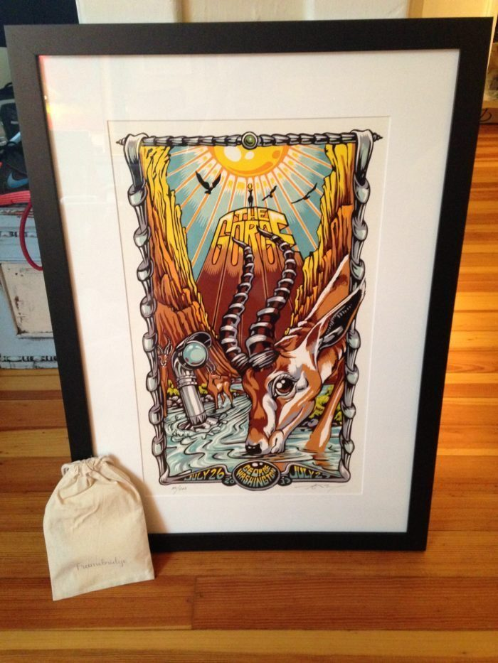 Framebridge – The Easy and Affordable <br />way to Custom Frame Concert Posters