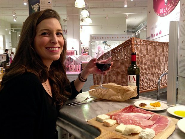 Cheese plate at Eataly - 24 Hours in Chicago | Blue Mountain Belle