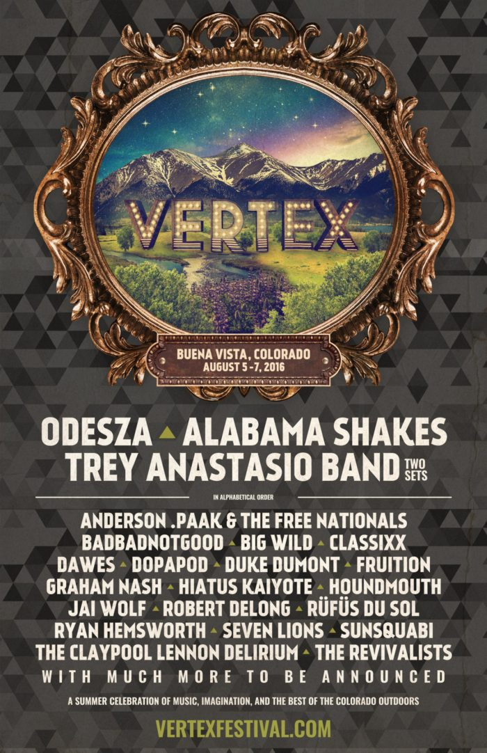 Vertex Festival Line Up