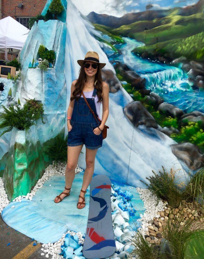 Denver Flea with PepsiCo Recycling   Blue Mountain Belle