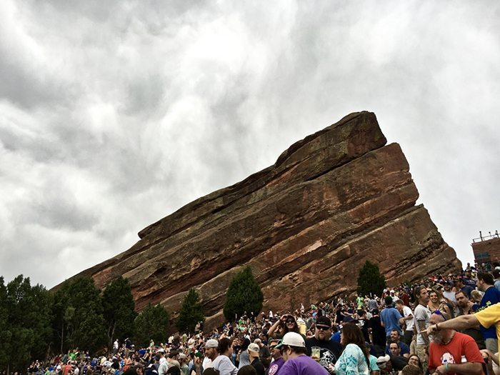 Widespread Panic Red Rocks 2016 | Blue Mountain Belle