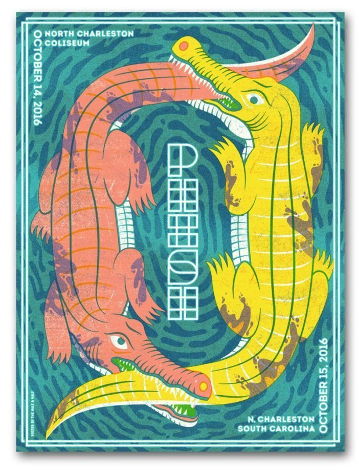 Phish Charleston 2016 Poster