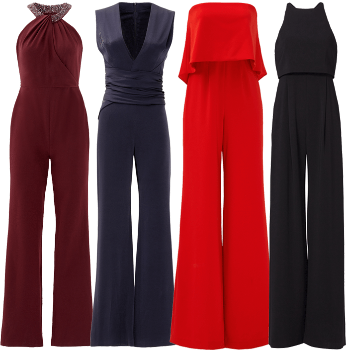 Holiday Party Jumpsuits from Rent The Runway | Blue Mountain Belle