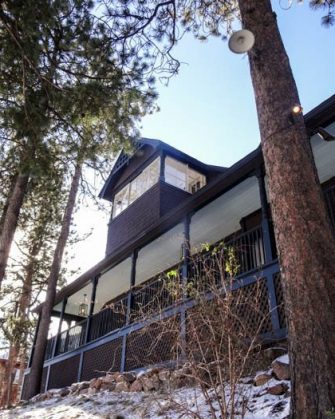 The Outlook Lodge outside Colorado Springs   Blue Mountain Belle