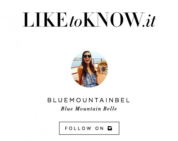 Shop My Instagram With LikeToKnowIt