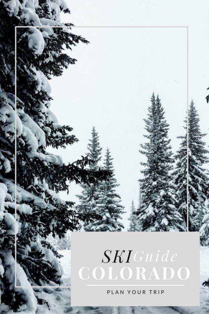 How to Plan a Colorado Ski Trip