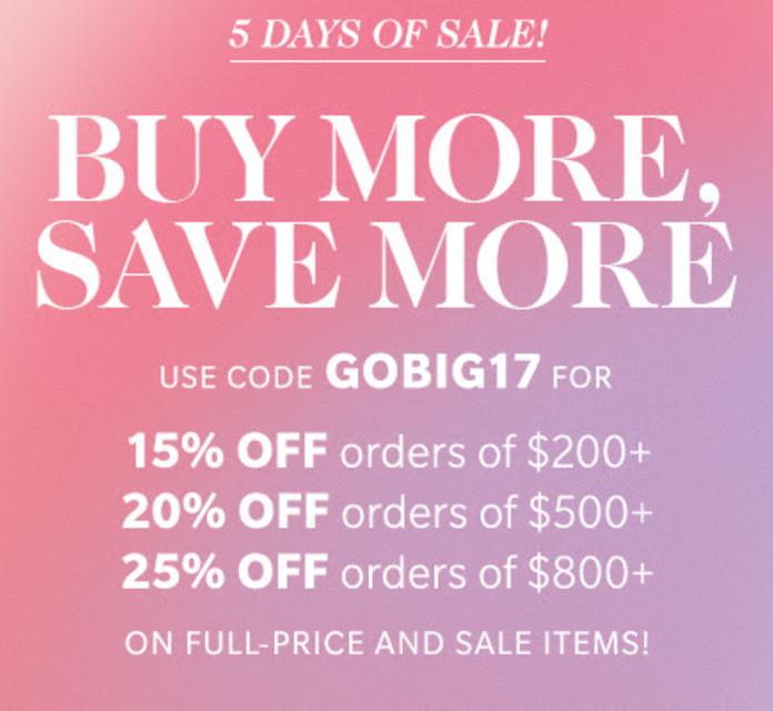 Shopbop Shop & Save Sale!