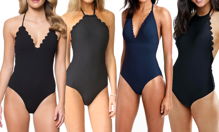Trend Alert: Scalloped Swimsuits