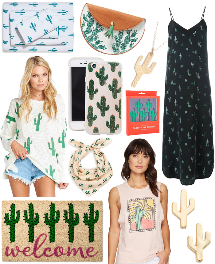 Summers Print: Cactus