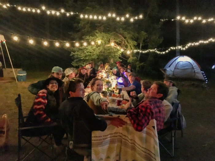 How to Throw A Camping Engagement Party
