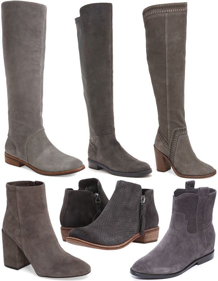 6 Gray Boots For Fall