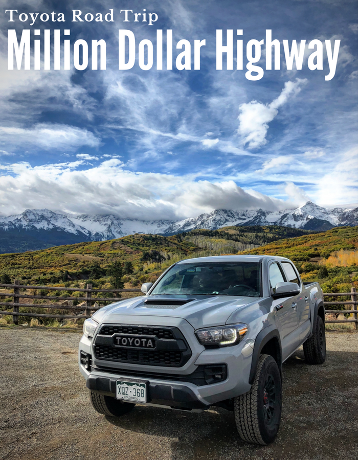 Million Dollar Highway With Toyota #letsgoplaces