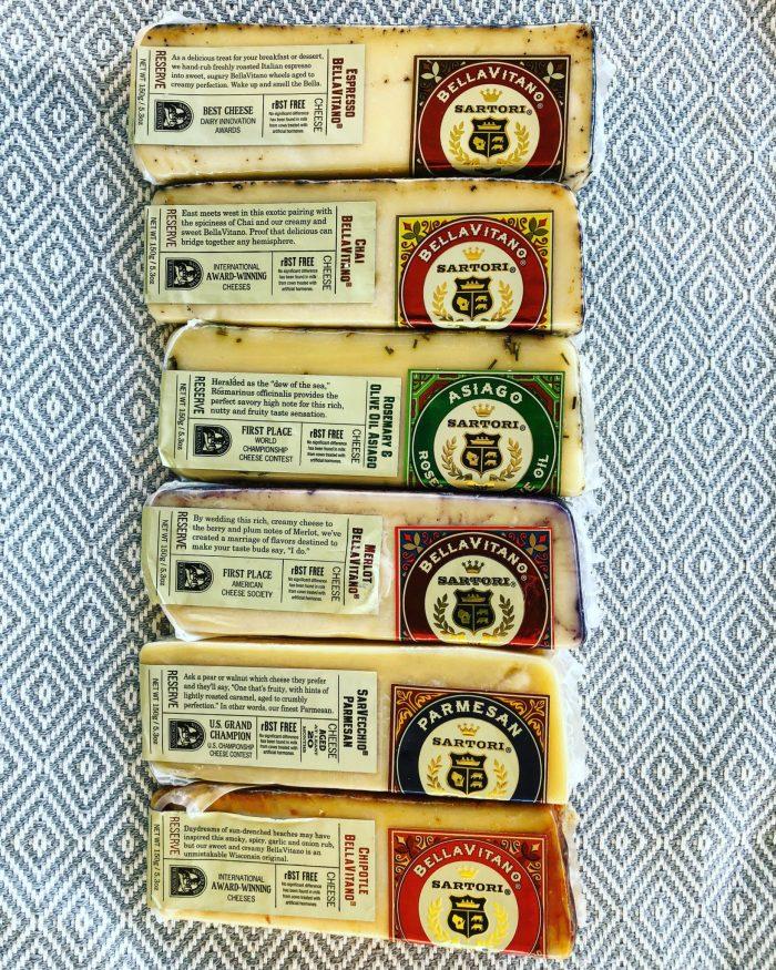 Sartori 14 Cheese Giveaway