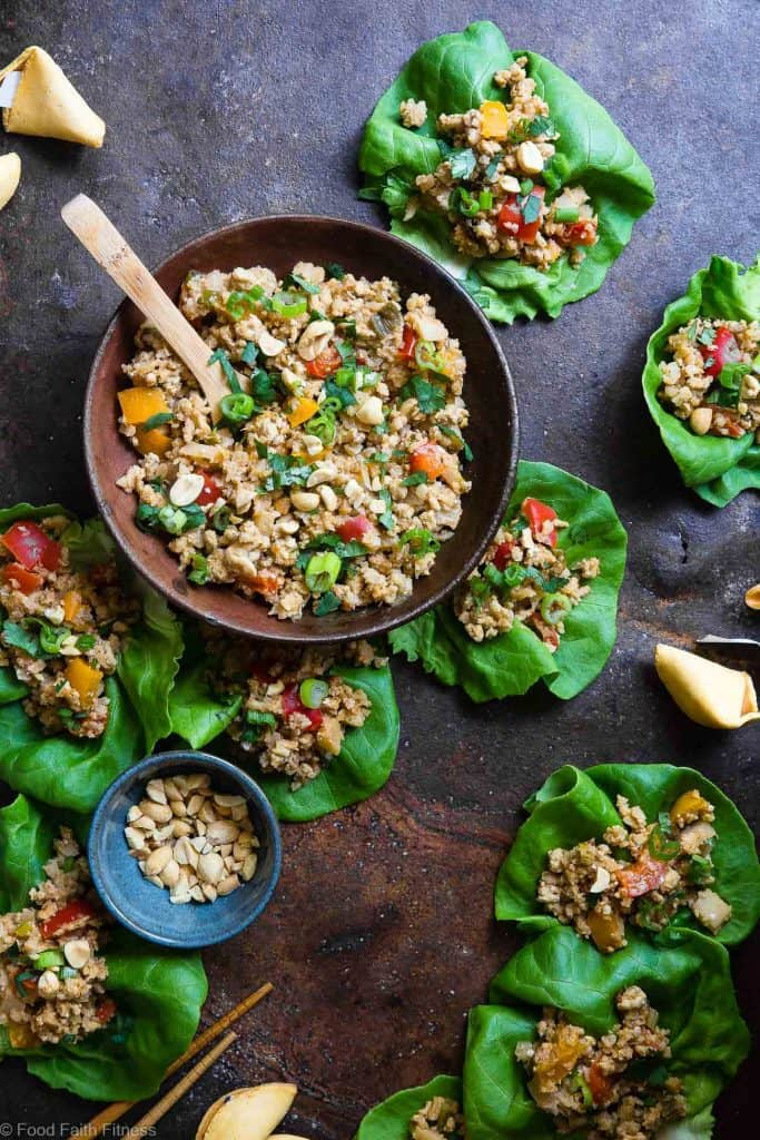 Slow Cooker Asian Chicken Lettuce Wraps - Whole30 recipies