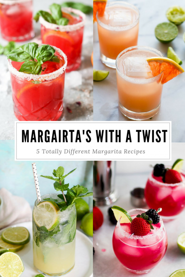 5 Totally Different Margaritas To Try For Cinco De Mayo