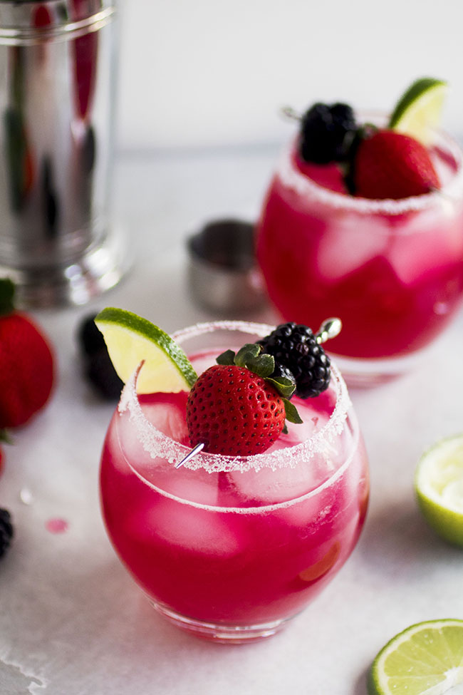 Triple Berry Margarita by Life As A Strawberry
