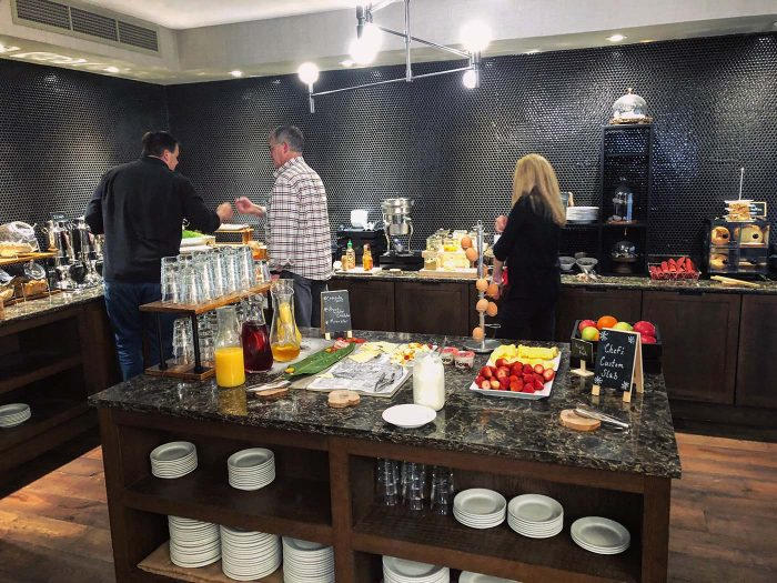 Hilton Denver City Center Executive Suite Breakfast