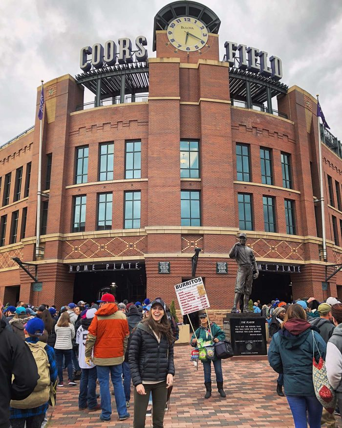 Denver Rockies Game | Blue Mountain Belle