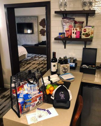 Hilton Denver City Center Triple Play Package